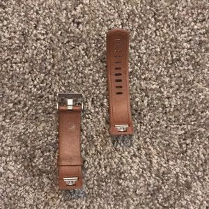FitBit Accessories - Fit Bit Charge 2 Brown Leather Band